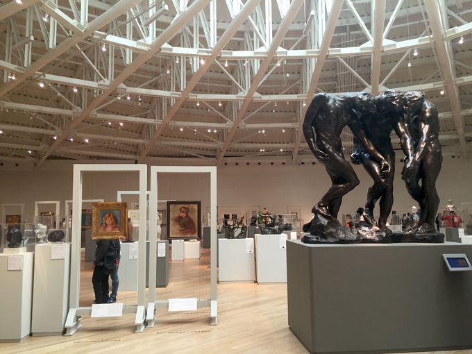 ロダン他世界著名の芸術作品もすべて無料で