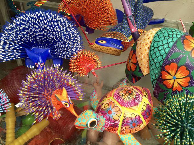 カラフル天国メキシコの民芸品を買おう!民芸市場でショッピング!