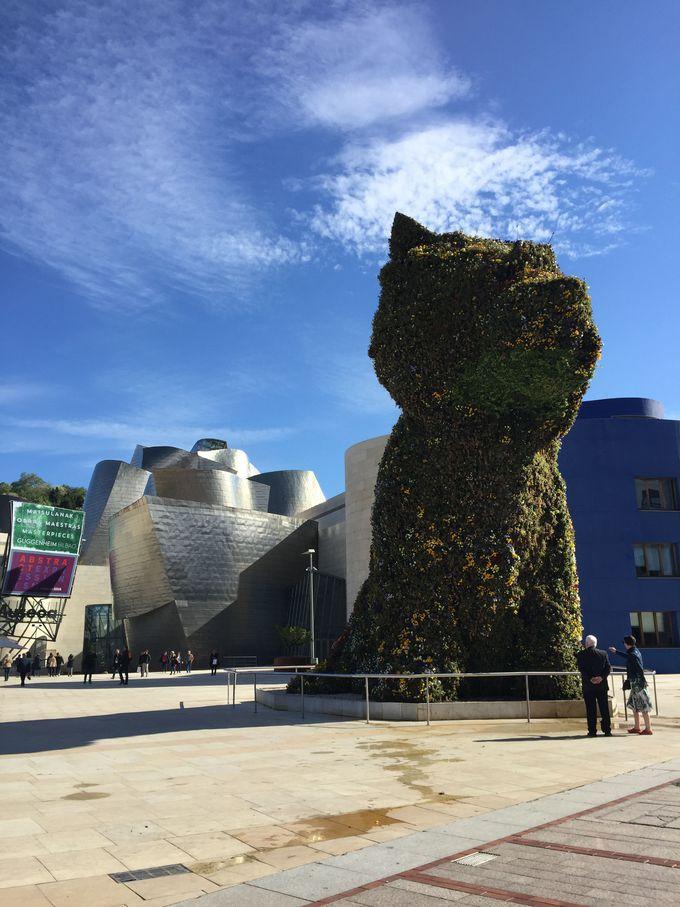 ビルバオのグッゲンハイム美術館で世界トップレベルのアート観賞