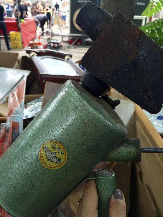 珍しい東ドイツ製品も発見