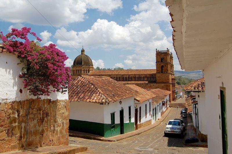 ノスタルジック!コロンビアで一番可愛い街「バリチャラ」で街散歩