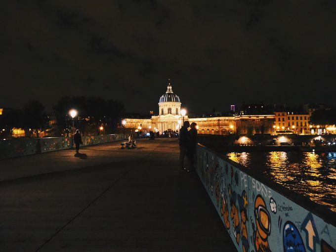 永遠の愛を誓うなら「ポン・デ・ザール橋」
