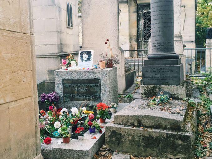 歴代の著名人が眠る「ペール・ラシェーズ墓地」