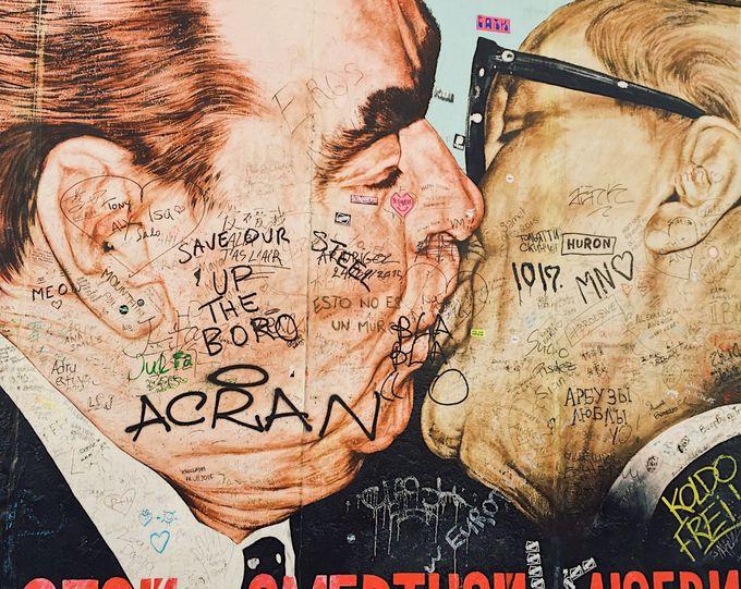 午前:歴史の遺産「ベルリンの壁」からスタート
