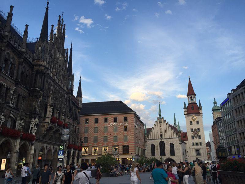 まるでファンタジーの世界!ミュンヘン旧市街地をぶらり散歩