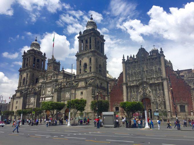 アメリカ大陸最大!メキシコシティ「メトロポリタン大聖堂」