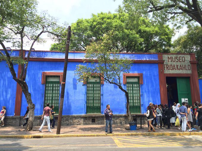 メキシコ流アートに触れる「フリーダ・カーロ美術館」
