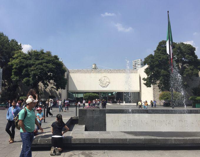 メキシコの文明の深さを知る「国立人類学博物館」