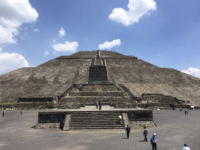 世界遺産を見に行こう!「テオティワカンのピラミッド」