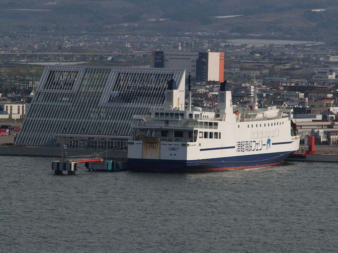 2015年に北海道新幹線がやってくる函館!でも旅情を求めるなら津軽海峡を渡るフェリーで上陸だ