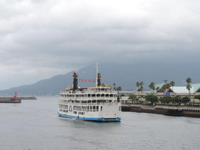 就航80周年を迎えた桜島フェリーは24時間運航