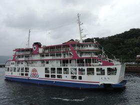1日1便!「よりみちクルーズ」で桜島の魅力に大接近