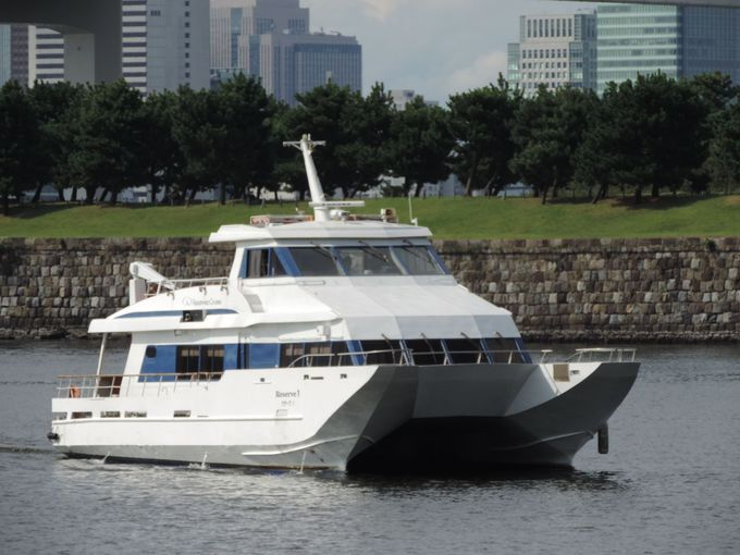 豪華クルーザーでゆく羽田空港への船旅。そのお値段は2500円!