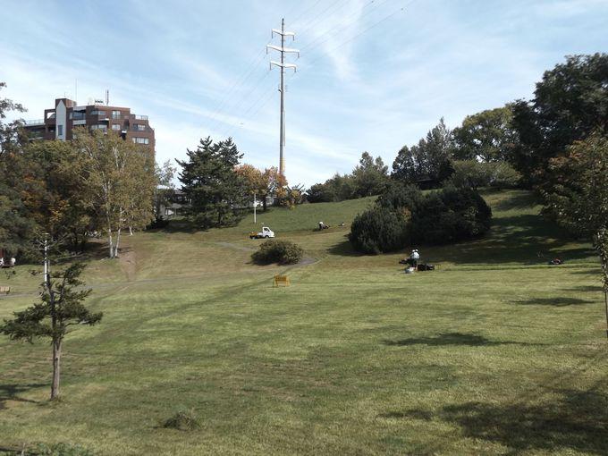 「前枠・後枠」の舞台、平岸高台公園は第二の聖地