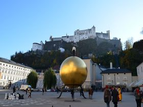 思わず息を呑む美しさ!ザルツブルク城から見下ろす雄大な景色に感動!