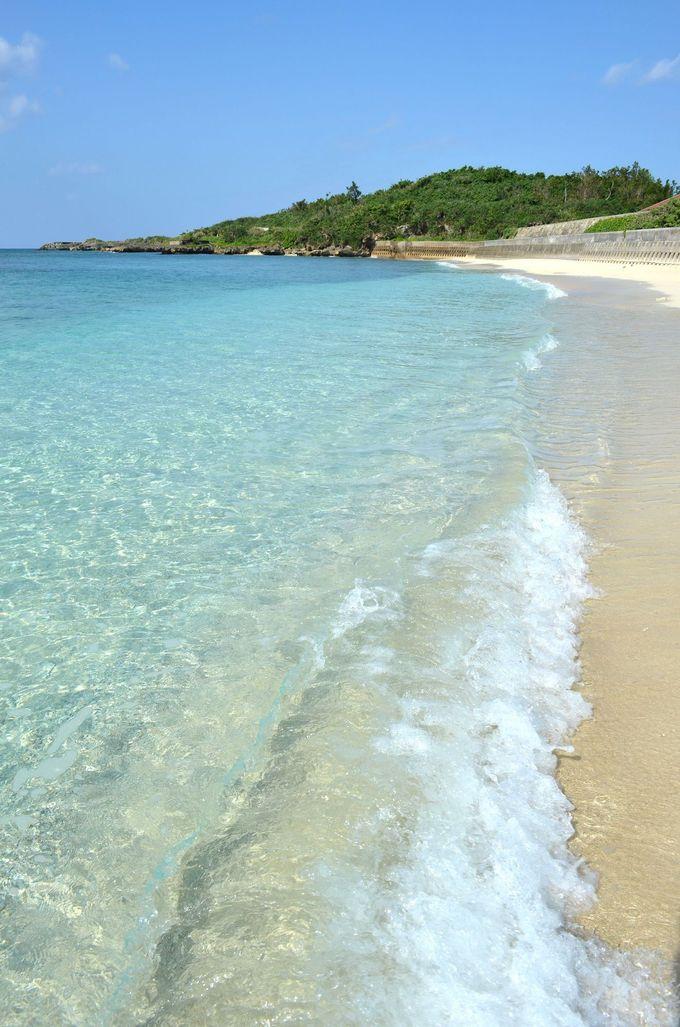 美しいビーチを独り占め!