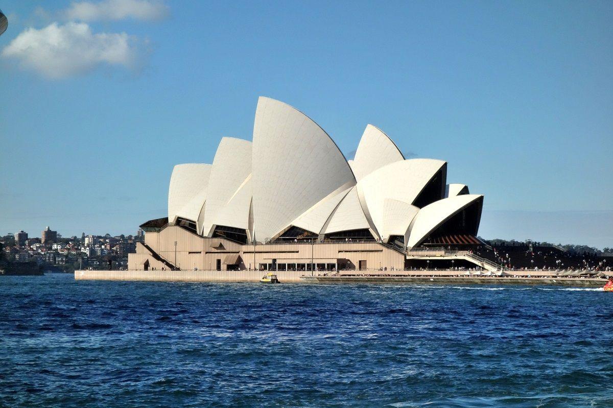 シドニーの世界遺産「オペラハウス」