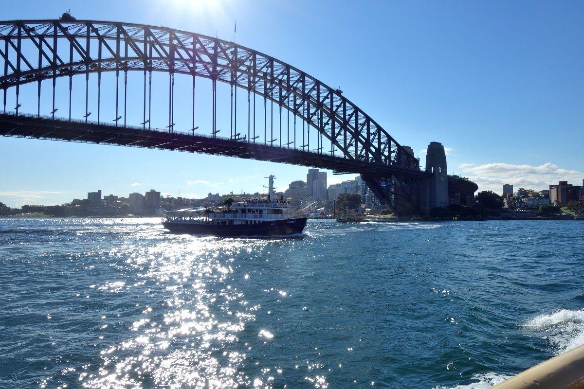 船上から眺める世界遺産!
