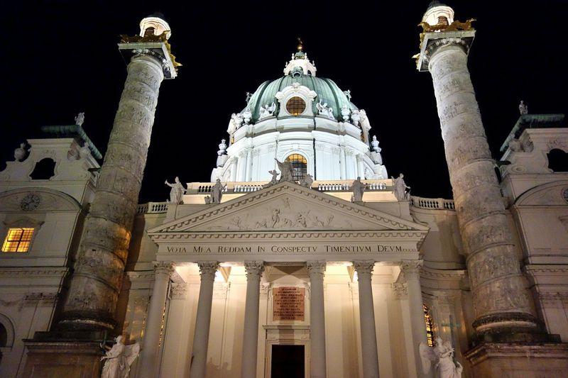 美しい音色を壮大な空間で!ウィーン「カールス教会」コンサート