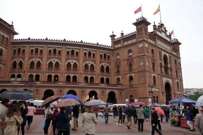 スペインの格式高い闘牛場