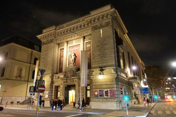100年以上もの歴史を持つコンサートホール