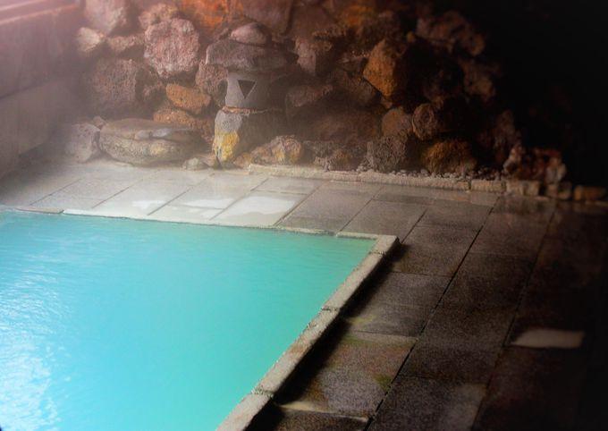 全国屈指の硫黄含有量を誇る温泉