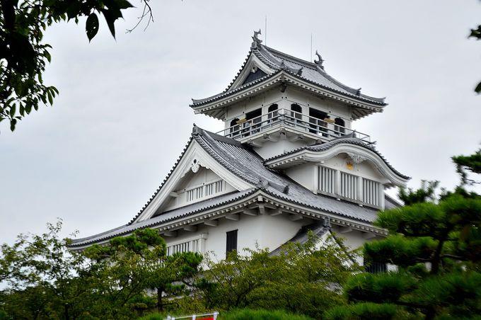 秀吉ゆかりの長浜城すぐそば
