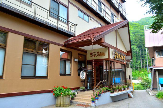 桧枝岐温泉最大の宿「旅館ひのえまた」