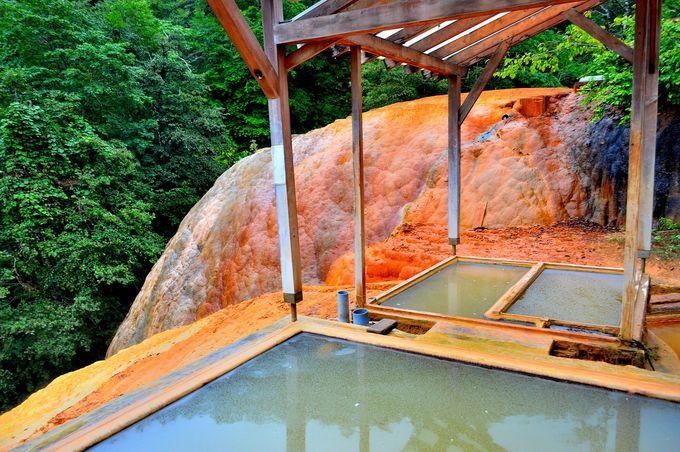 ドームを見ながら入浴!