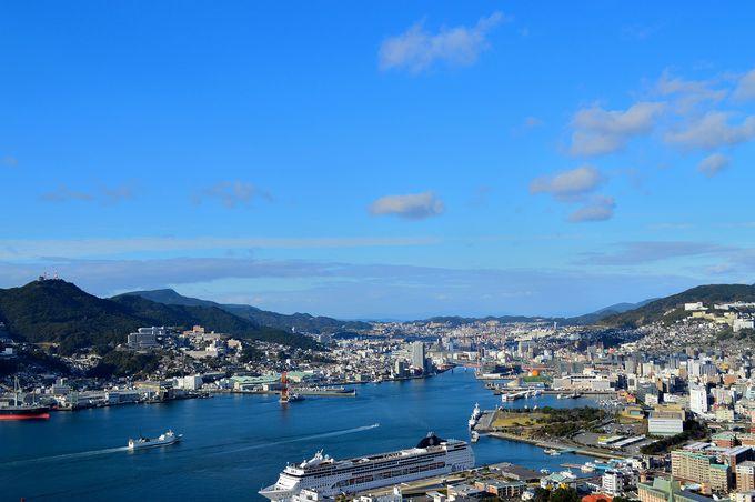 美しい長崎の街を一望!「鍋冠山展望台」