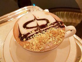 贅沢の極み!アブダビ・エミレーツパレスの「金箔カプチーノ」で優雅なティータイムを
