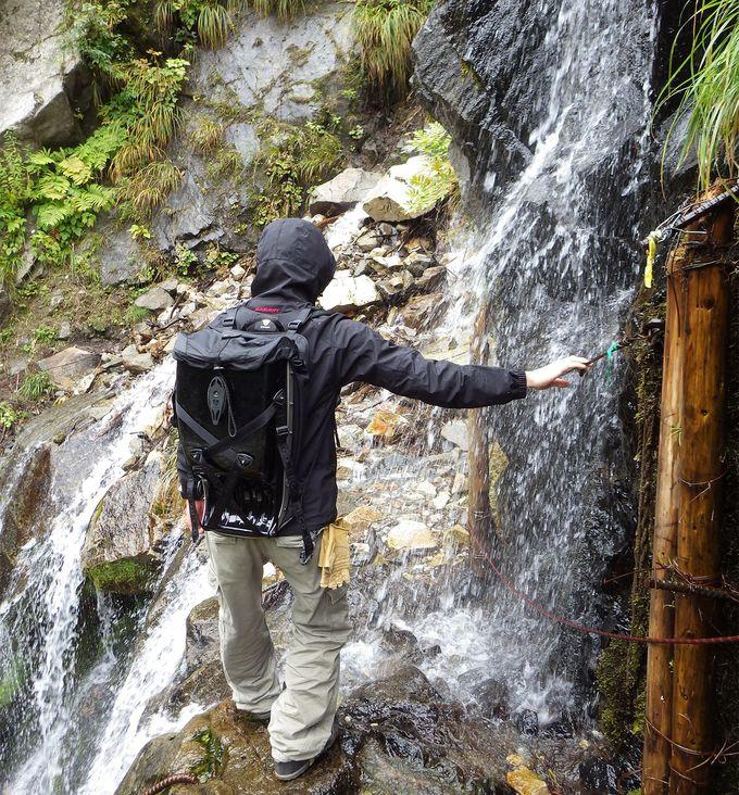 「黒部に怪我なし」断崖絶壁の登山道