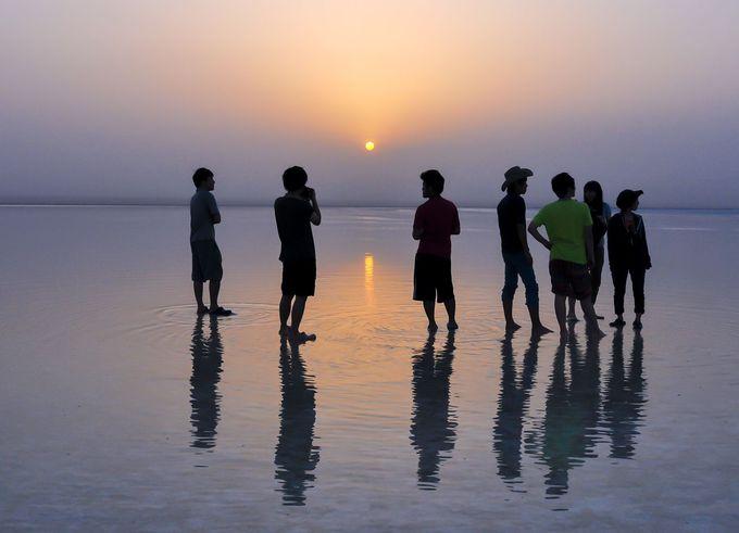 見所3:アフリカの塩湖「アサレ湖」