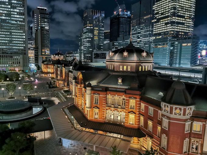 改札から30歩。重要文化財・東京駅丸の内駅舎内のホテル