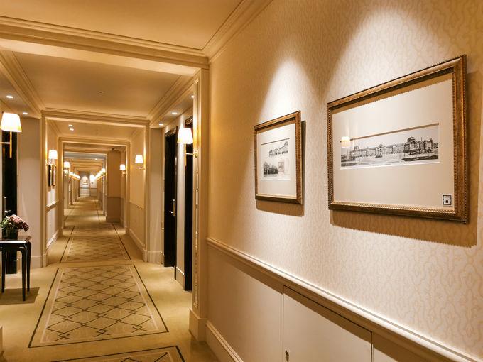 ホテル内探検でお気に入りの場所を見つけよう