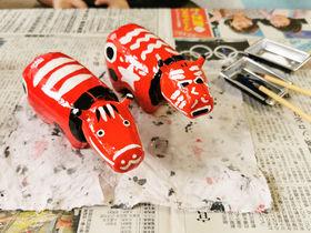 会津若松「赤べこ絵付け体験」でオリジナル赤べこを作ろう!