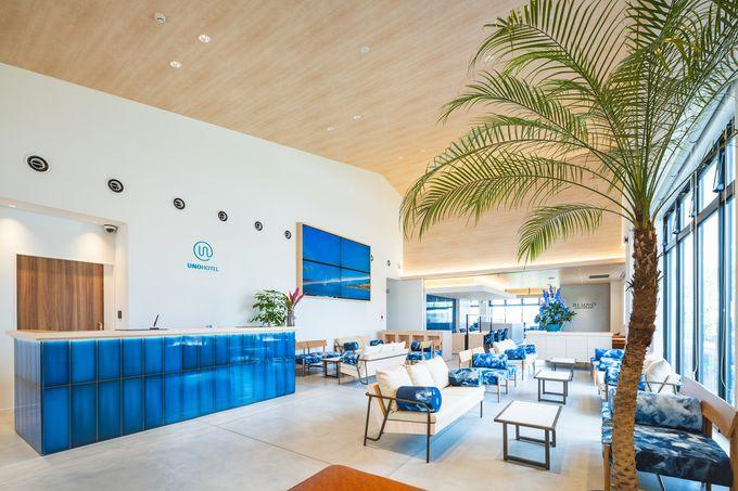 駅も港も徒歩3分以内!「UNO HOTEL」は瀬戸内の観光拠点