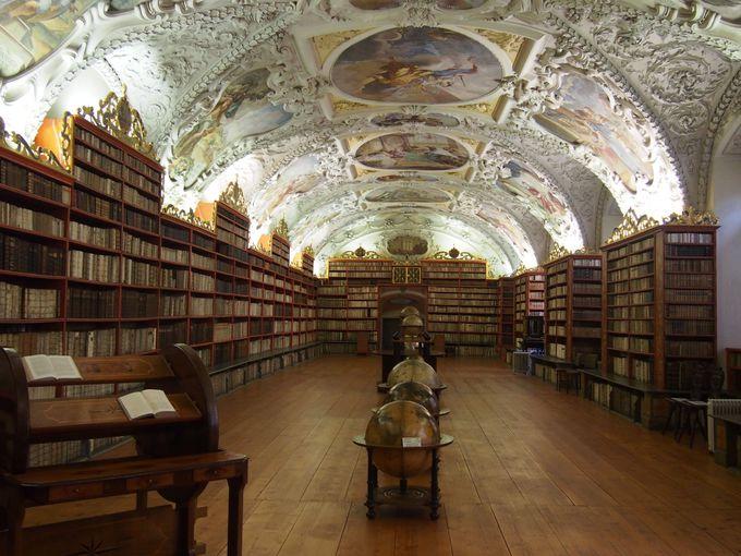 4.ストラホフ修道院図書館/チェコ・プラハ