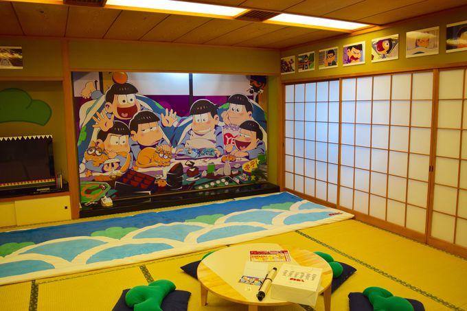 世界にひとつだけ!?松野家の居間を再現した部屋