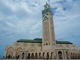 モロッコ最大級を誇るモスク!カサブランカ「ハッサン2世モスク」