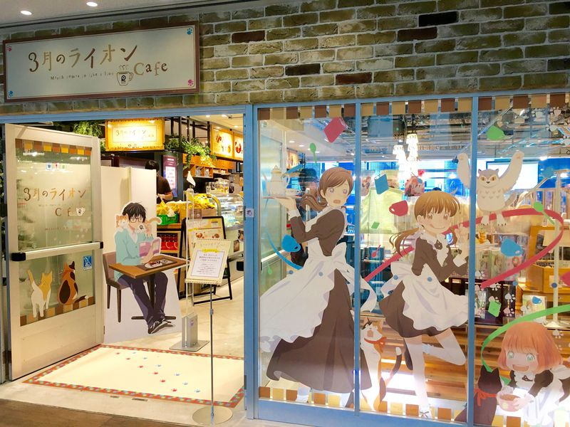 あかりさんの料理を忠実に再現!東京駅「3月のライオン」カフェ