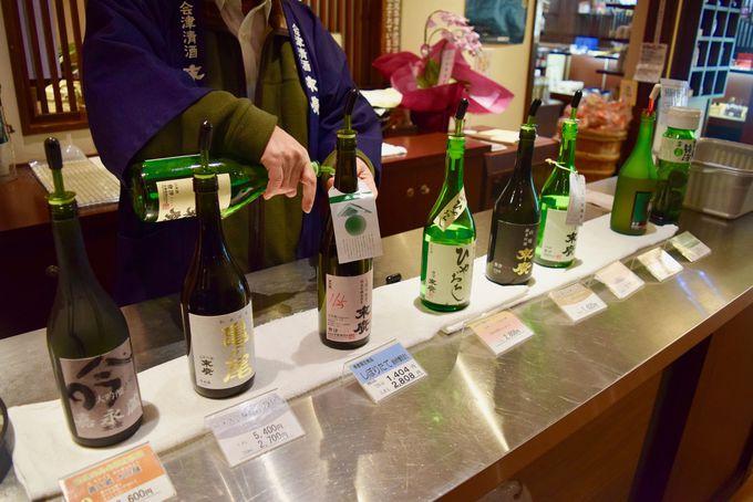 酒蔵見学の後は会津の地酒を試飲!「末廣酒造」