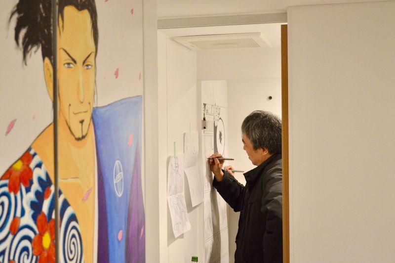 漫画家こしのりょう先生と異例のコラボ!上野・浅草「行燈旅館」