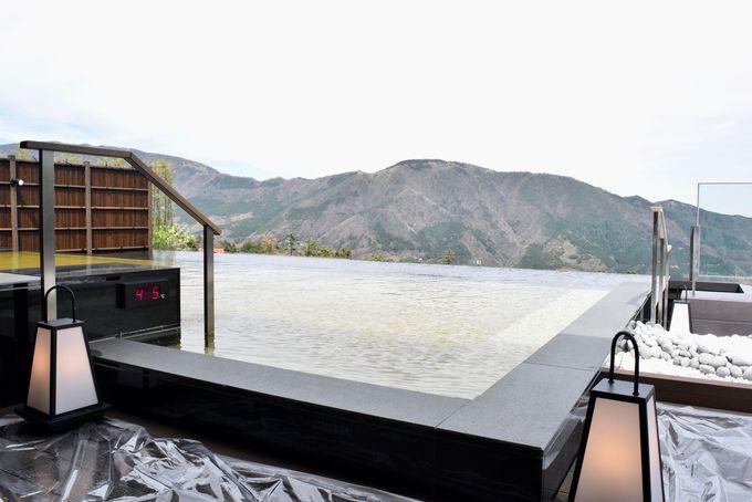 箱根の自然と一体になったような「浮雲の湯」