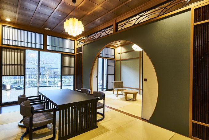 6つの地名になぞらえた特別客室「箱根遊山」