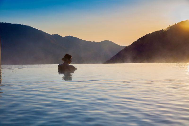 絶景インフィニティ露天風呂で癒されたい!箱根小涌園「天悠」