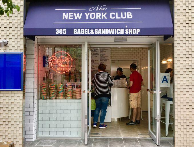 ベーグルとサンドウィッチの専門店をオープン!