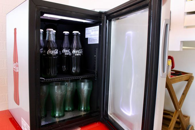 コカ・コーラ好き必見のコンセプトルーム!