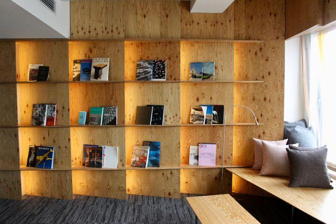 読書家の書斎をイメージしたスイート「Library Suite」