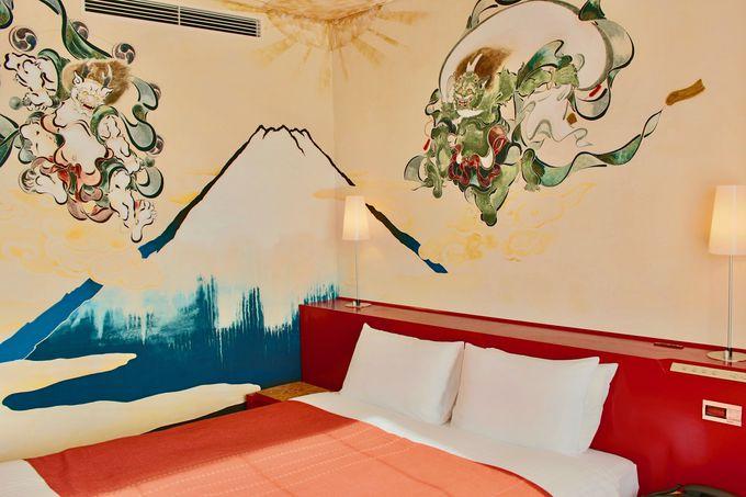 おめでたい日に泊まりたい!「アーティストルーム富士山」